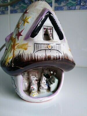 Wade Catkins Family Limited Edition 1970's Lamp House. Used/Repaired RARE!! • 9.99£