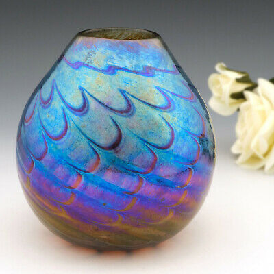 Siddy Langley Iridescent Glass Vase 2008 • 112£