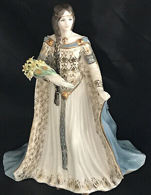 Royal Worcester Limited Edition Lady Figurine 'The Daughter Of Erin' • 1.05£