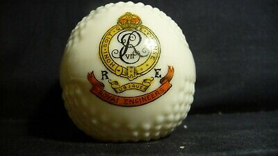 Royal Engineers  - Crested China Golf Ball • 9.50£