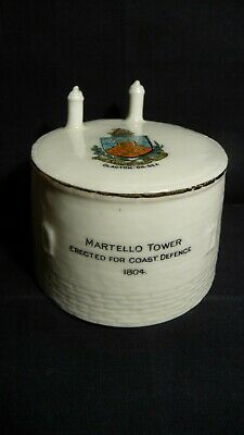 Ww1 Martello Tower Matching Crest - Arcadian China • 27.50£