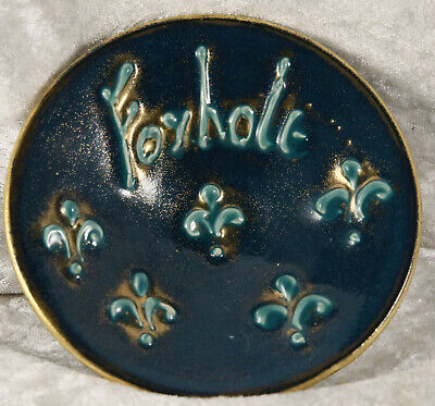 Jersey Pottery Pin Tray With Foxhole In Multicolours Collectable  • 1.50£