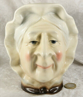 Kingston Pottery Charles Dickens Betsy Trotwood Large Toby Character Jug  • 7£