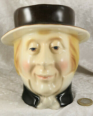 Kingston Pottery Charles Dickens Pip Large Toby Character Jug  • 7£