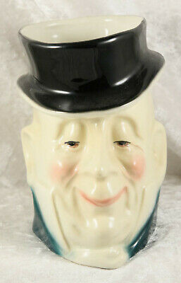 Kingston Pottery Charles Dickens Mr Micawber Large Toby Character Jug  • 7£