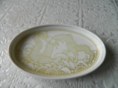 Vintage Rosenthal Bavaria Pin Dish With Relief Dragon Decoration • 7.99£