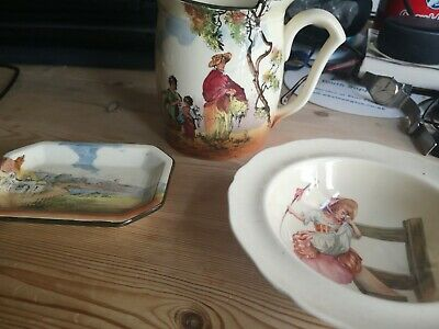 Royal Doulton The Gleaners + Bo-peep & 1 Other  • 6.80£