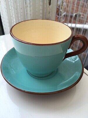 Watcombe Torquay Royal England Cup And Saucer • 2.50£