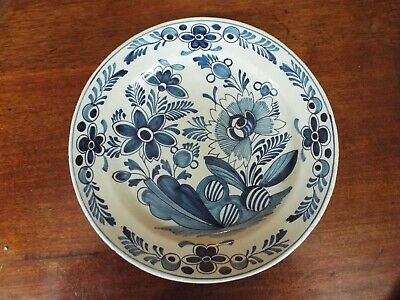 Antique Dutch Delft Early 19th Century Plate • 60£