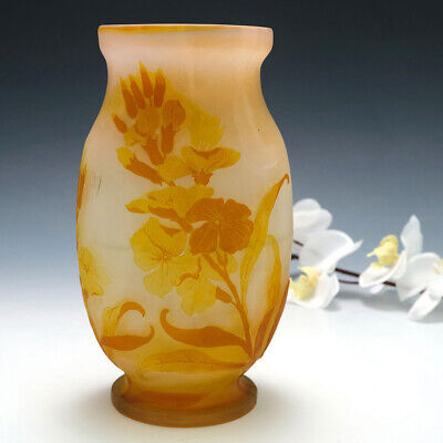 An Emile Galle Cameo Glass Vase C1900 • 1,950£