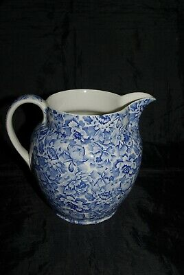 Retro Palace Gardens Exclusive To Laura Ashley Large Jug Pitcher 2.5 Pints • 7£