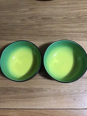 New Attractive Modern Ceramic Bockling Creative Soup Cereal Bowl Set Of Two • 12£