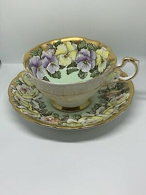 PARAGAN Vintage China Cup & Saucer By Appointment (!AF Hairline ) • 1.64£