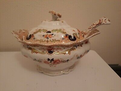 Vintage Extremely Rare John Maddock And Sons Bombay Pattern Centre Piece Tureen • 25£