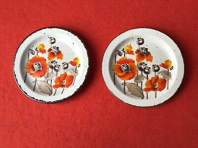 MIDWINTER Stonehenge  AUTUMN  2 X TEA PLATES • 10£