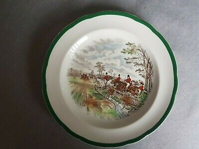 Copeland Spode  Full Cry  ...10.25  Plate ..EXCELLENT CONDITION. 2/9365 K • 2.99£