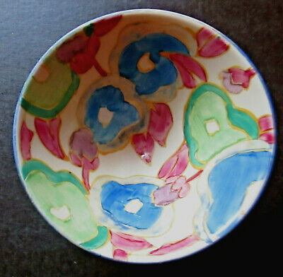 Clarice Cliff Conical Bowl. Blue Chintz • 200£