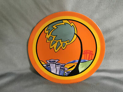 Clarice Cliff 1995 Wedgwood Plate Limited Edition Monsoon • 22£