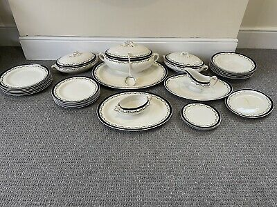 Antique Booths Silicon China Dining Set By • 10£