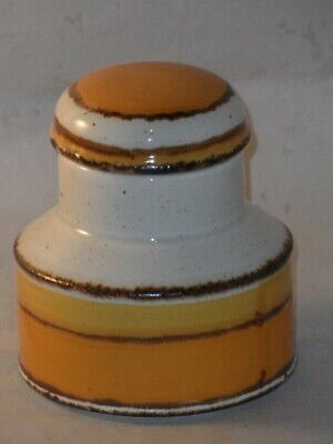 Midwinter Pottery Stonehenge Shape Eve Midwinter Sun Pattern Sugar? Pot & Lid    • 14.99£