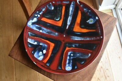 Poole Pottery 10 Inch Delphis Plate Pattern Number 4  • 38£
