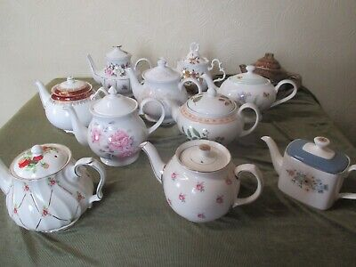 Fine Selection Of Teapots Ideal For Vintage Parties And Tearooms Sold Individual • 16.50£