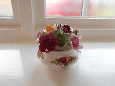 ROYAL ALBERT OLD COUNTRY ROSES - Large FLOWER ORNAMENT • 4.99£