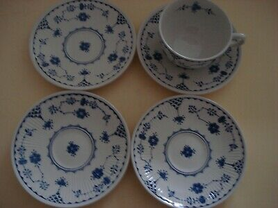Furnivals  Denmark 1 Tea Cup And  4 Saucer's • 14.99£