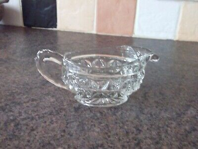 SMALL GLASS SAUCE BOAT 1980s  • 1.99£