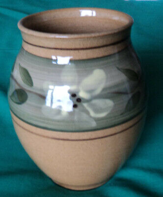 Holkham Studio Pottery Vase. Vintage? Hand Made. Initialled CR. Cyril Ruffles? • 8.99£