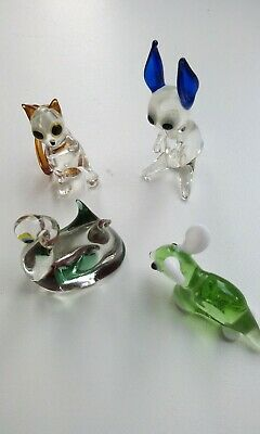 Coloured Glass Animals • 5£