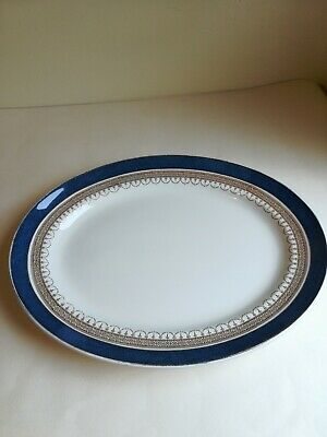 Losol Ware Keeling Co Large Display Kitchen Wall Hanging Plate Blue England  • 11£