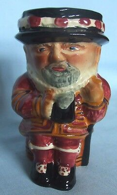 Shorter & Sons Staffordshire Toby Jug Beefeater • 24.99£