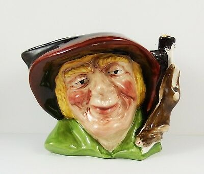 Oldcourt Ware Pottery Character Jug ~ The Poacher • 16.99£