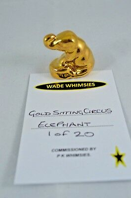 Wade Gold Sitting Circus Elephant 1 Of 20 • 29.99£