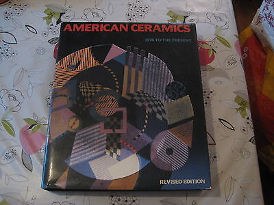 American Ceramics 1876 To The Present Clark Lge Format Hardback Book  • 25£