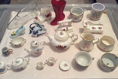Vintage Huge Collection Of China Minitures Various Types • 24.99£