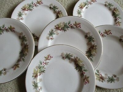 Vintage Royal Standard China LYNDALE Side Plates X 6 Lovely Condition  • 10.50£