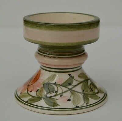 Jersey Pottery Candlestick - 3 Inches Tall - Super Condition!  • 8.99£