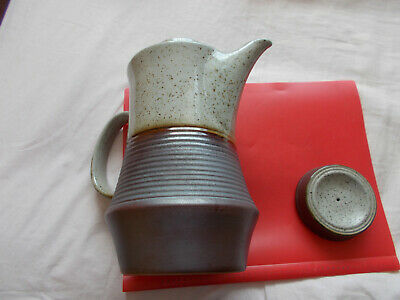 Portland    Coffee  Pot From  Purbeck Pottery Coffee Pot   (01/08) • 12.99£