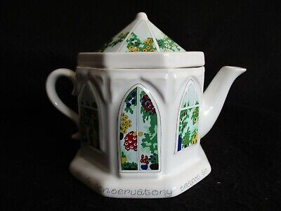 VINTAGE WADE COLLECTOR'S ENGLISH LIFE 'CONSERVATORY' TEAPOT C.1989-1993 NM • 5.99£
