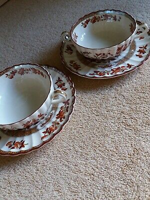 Copeland Spode India Tree Soup Coupes X 2 Multiples Available  • 14.99£