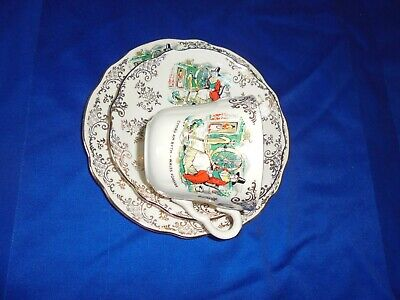 Washington Pottery - Cup  Saucer & Plate -  WALES FOREVER • 6.99£