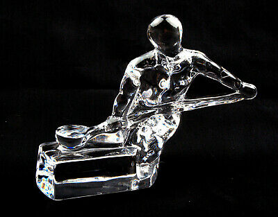 Orrefors Glass (Sweden) Craftsmen Series Founder Figurine By Olle Alberius • 49.99£