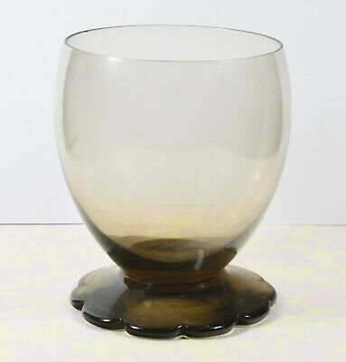 Beautiful Daum Nancy French Drinking Glass With Daisy Shape Foot • 16.99£