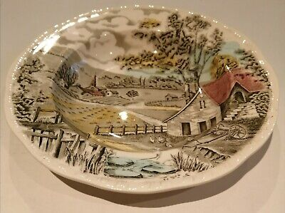 Alfred Meakin Home Pastures Bowl Staffordshire Hand Engraved Pattern Vintage • 12.99£