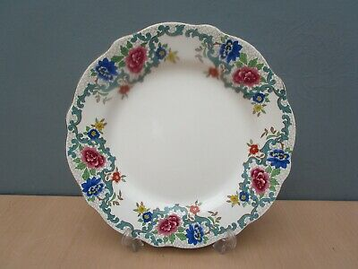 Vintage Lord Nelson Pottery  Regina  10 Inch Scalloped Edge Dinner Plate • 2.50£