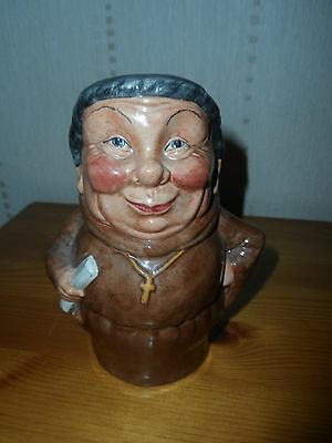 Staffordshire Character Jugs By Manor 'friar' Toby Character Jug • 50£