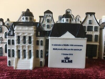 KLM Blue Delft Miniature House Number 100 - SPECIAL EDITION ** SEE PICTURES ** • 149.50£