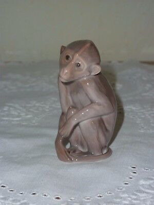 Beautiful Bing And Grondahl Monkey - Number 1667 - 1st Quality • 75£